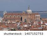 santi giovanni e paolo in... | Shutterstock . vector #1407152753