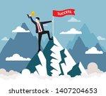 landscape of nature ...   Shutterstock .eps vector #1407204653