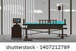 bright interior of the modern... | Shutterstock .eps vector #1407212789