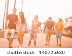young people in their twenties... | Shutterstock . vector #140725630