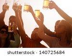young people in their twenties... | Shutterstock . vector #140725684