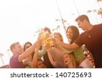 young people in their twenties... | Shutterstock . vector #140725693