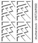 vector of simple background... | Shutterstock .eps vector #1407269000