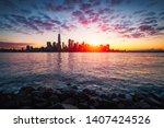 new york city skyline  new york ...   Shutterstock . vector #1407424526