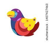 vector illustration colorful... | Shutterstock .eps vector #1407427463