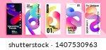 trendy editable template for...   Shutterstock .eps vector #1407530963
