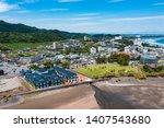 A Harbour View In Japan Miyazaki