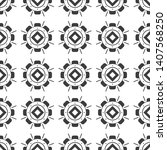 black and white seamless...   Shutterstock .eps vector #1407568250