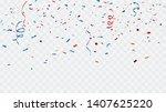 celebration background template ... | Shutterstock .eps vector #1407625220