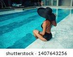 emotional portrait of fashion...   Shutterstock . vector #1407643256