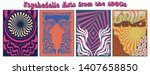 psychedelic backgrounds from... | Shutterstock .eps vector #1407658850