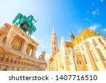 st matthias church in budapest   Shutterstock . vector #1407716510