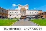 vatican city   may 07  2018 ... | Shutterstock . vector #1407730799