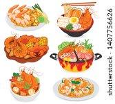 Padthai  Seafood Noodles ...