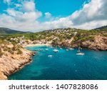 Aerial View Of The Cliffs And...