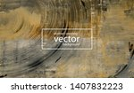 luxury abstract painting... | Shutterstock .eps vector #1407832223