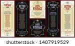 template advertisements  flyer  ...   Shutterstock .eps vector #1407919529
