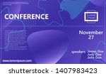 3d background. conference...   Shutterstock .eps vector #1407983423