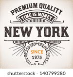 vector. retro card | Shutterstock .eps vector #140799280
