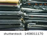 planned obsolescence concept.... | Shutterstock . vector #1408011170