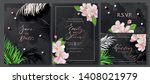 wedding invitation cards with... | Shutterstock .eps vector #1408021979