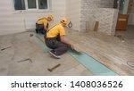 team of builders make...   Shutterstock . vector #1408036526