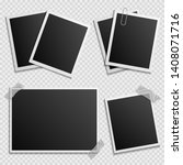 photo frames vector set  ... | Shutterstock .eps vector #1408071716