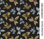 seamless watercolor pattern.... | Shutterstock . vector #1408080380