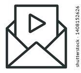 video message   minimal line...