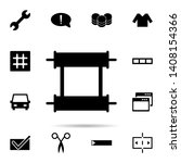 scroll icon. universal set of...