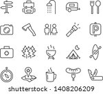set of camp icons  such as...   Shutterstock .eps vector #1408206209