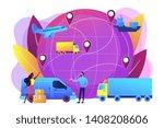 internet store goods...   Shutterstock .eps vector #1408208606