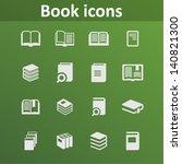 magazine icons | Shutterstock .eps vector #140821300