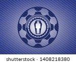 dead man in his coffin icon...   Shutterstock .eps vector #1408218380