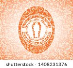 dead man in his coffin icon...   Shutterstock .eps vector #1408231376