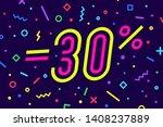 sale  30 percent. banner for... | Shutterstock .eps vector #1408237889