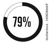 circle percentage diagrams 79 ...