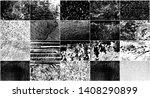 vector set grunge design... | Shutterstock .eps vector #1408290899
