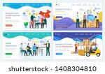 business with china vector ... | Shutterstock .eps vector #1408304810