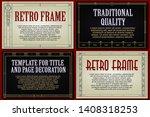 template advertisements  flyer  ...   Shutterstock .eps vector #1408318253