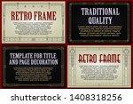 template advertisements  flyer  ...   Shutterstock .eps vector #1408318256