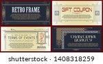 vector template flyer ...   Shutterstock .eps vector #1408318259