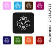 nine styles flat rectangle...   Shutterstock .eps vector #1408319183