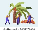 palm oil producing industry... | Shutterstock .eps vector #1408322666
