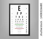 creative illustration of eyes...   Shutterstock . vector #1408326680