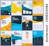 business flyer template....   Shutterstock .eps vector #1408343486