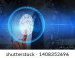 unrecognizable businessman in... | Shutterstock . vector #1408352696