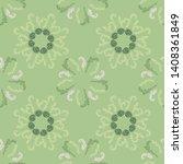 lavish branches elegant...   Shutterstock .eps vector #1408361849