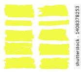 vector highlighter. hand drawn... | Shutterstock .eps vector #1408378253