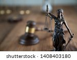 law concept. judge gavel ... | Shutterstock . vector #1408403180